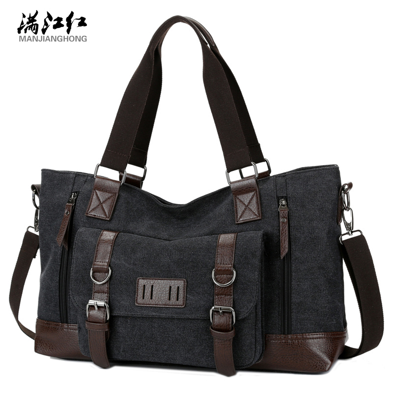 Fashion 2017 men messenger bag canvas body men and women are all large-capacity travel handbag cross classic classic handbag