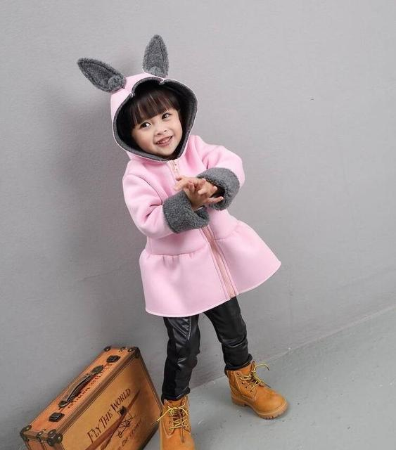 4-36M 2017 baby girl jacket autumn infant girl coats clothes outerwear girl baby coat jacket toddler girl jackets cute clothing