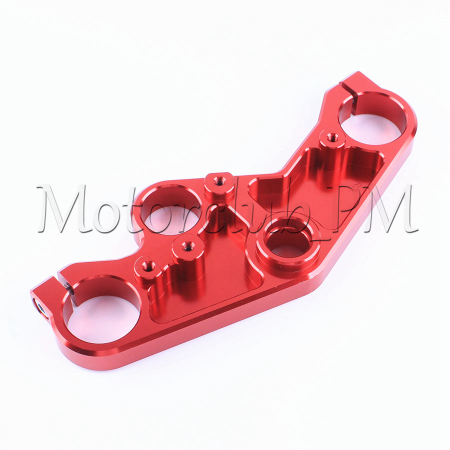 High Quality CNC Front End Upper Triple Tree Top Clamp For Yamaha YZF R3 R25 2014-2016 2015 Red for bmw 3 series e36 318 328 323 325 front coilover strut camber plate top mount green drift front domlager top upper mount
