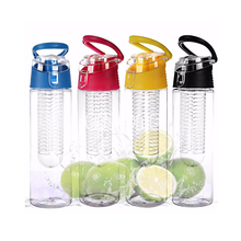 Cycling 700ML Tritan Fruit Infuser Water Bottle Sports Health Lemon Juice Make Bottle