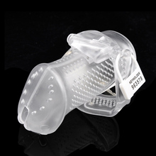 Breathable Male Chastity Belt Chastity Device Cock Cages Adult Sex Toys For Men Penis Rings Male Chastity Cage Device Bondage все цены