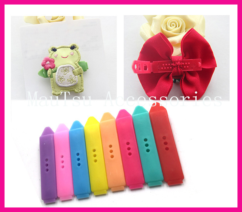 50PCS 8mm*4.8cm Colorful Plain Plastic Pin Back suitable to brooches,48mm Plastic Safety Pins,Bargarin for Bulk
