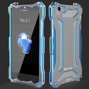 Image 5 - Металлический бампер для iPhone 7 R JUST Gundam, противоударные высококачественные уличные Чехлы для iPhone 7 Plus, бронированный Алюминиевый Чехол