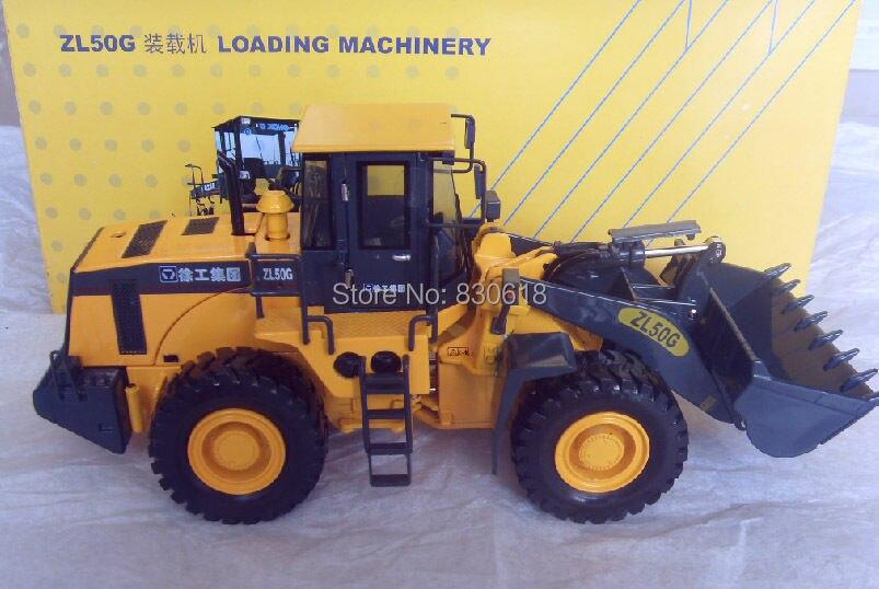 Xcmg ZL50G wheel loader bulldozer truck alloy car model 1:35 DieCast model Construction vehicles Toy