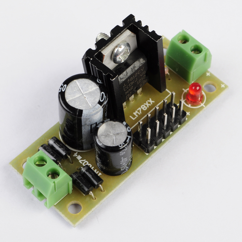 L7812 Step Down 14 5V 35V to 12V Buck Converter DIY Kit