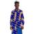 Cuello alto diseño asimétrico tops de dashiki Africano de impresión para hombre de la moda de ropa