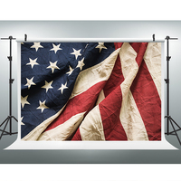 独立記念日写真撮影の背景アメリカフラグ写真の背景ビニール独立記念日の背景写真スタジオ