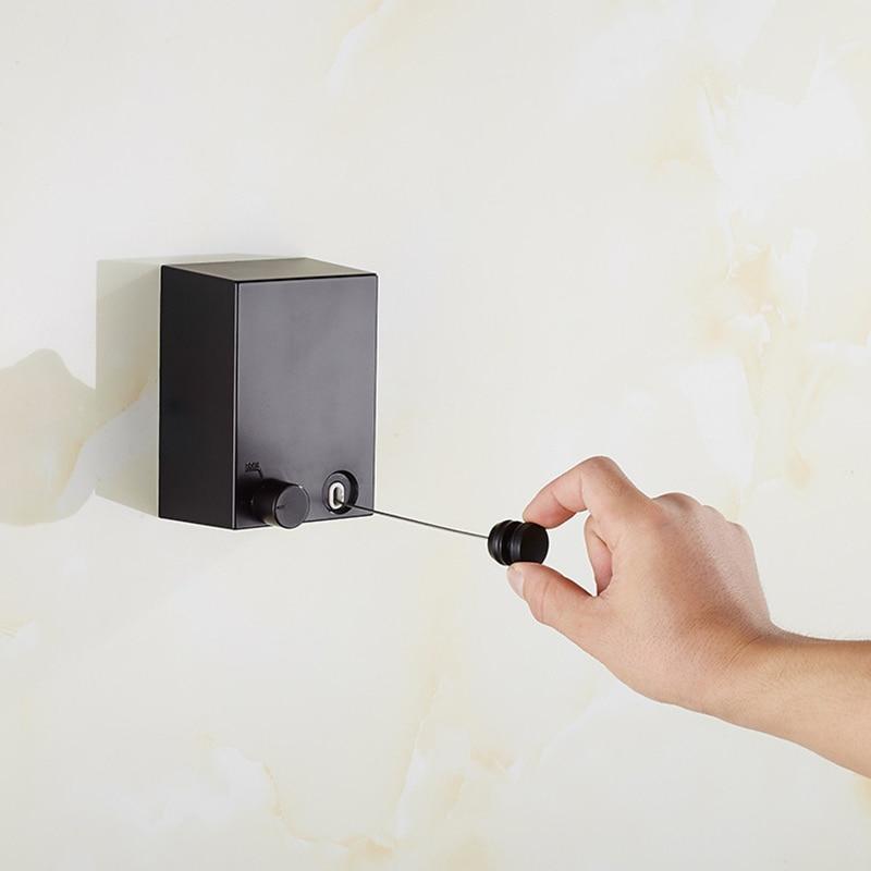 Горячая Выдвижная домашняя вешалка на стену для одежды, Волшебная сушилка, балкон, ванная комната, невидимая бельевая линия XH8Z ST25