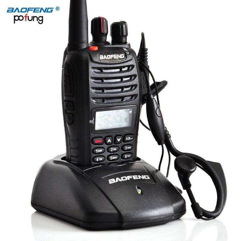 Baofeng UV B5 Portable Walkie Talkie Dual Double Band Two Way Ham VHF UHF Radio Station