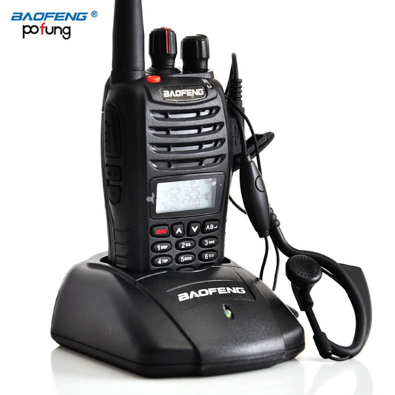 Baofeng UV-B5 Portable Walkie Talkie Dual Double Band Two Way Ham VHF UHF Radio Station Transceiver Boafeng Scanner Handheld PTT