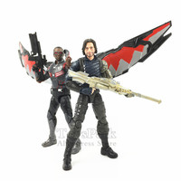 2018 Marvel Legends 6 White Wolf Soldier & Falcon Action Figure Movie Avengers Infinity War Traget Exclusive Collectible
