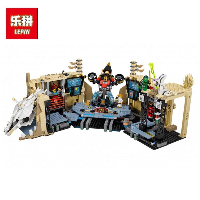 LEPIN 06039 Movie Phantom Samurai X Cave Chaos Set Model Building Kit Blocks Bricks Educational Children DIY Toys Christmas Gift solar powered toys educational diy kit set 6 model