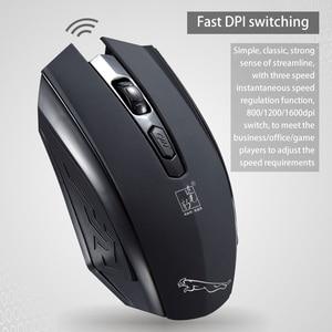 Image 4 - USB Drahtlose maus 1600DPI Einstellbar USB Empfänger Optische Computer Maus 2,4 GHz Ergonomische Mäuse Für Laptop PC Maus