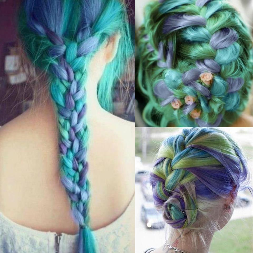 DIFEI Ombre Kanekalon Jumbo Synthetic Braiding Hair 1 ...