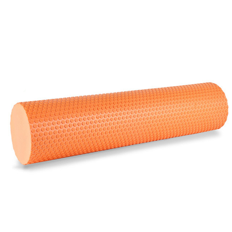 60*15cm 45*15cm Yoga Roller Tuber EVA Yoga Blocks With Massage Floating Point Accupoint For Pilates Gym Sports Fitness Equipment
