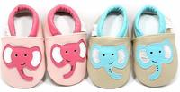 18 Colors High Quality Cartoon Style Baby Moccasins Genuine Leather Soft Sole Baby Shoes Animal Infant