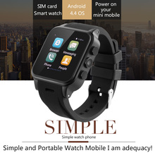 "2017 Fantastic 32GB Capacity 3G Smart Watch Phone TW308 Android4.4.2 1.54""IPS 600mAh Battery 3.0MP 720P Camera Download App"