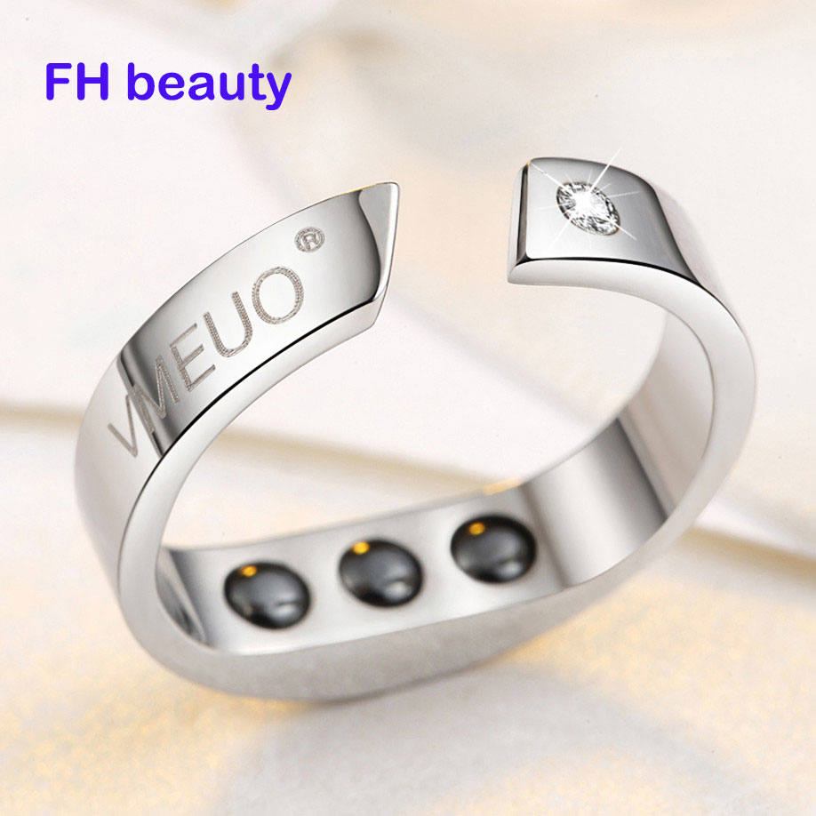4 Sizes Anti Snore Ring Magnetic Therapy Acupressure Treatment Against Snoring Device Snore Stopper Finger Ring Sleeping Aid(China)