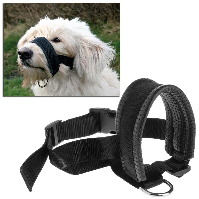 Pet Dog Padded Head Collar Gentle Halter Leash Leader Stop Pulling Training Muzzles Tool