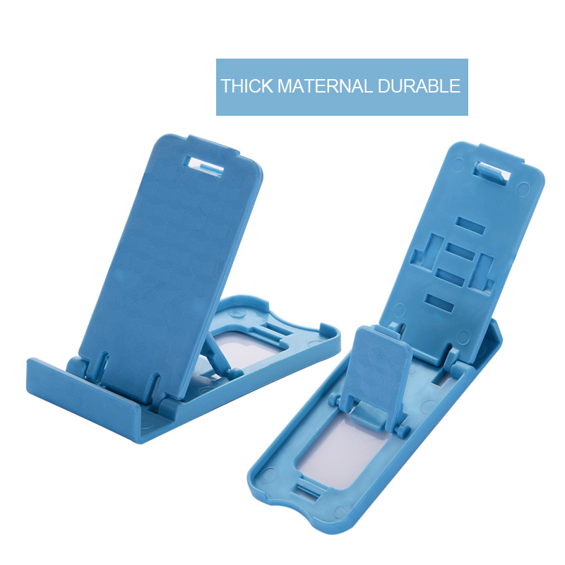 2pcs Universal Folding Table cell phone support Plastic holder desktop stand for iPhone sansumg xiaomi Smartphone 4 adjustable in Phone Holders Stands from Cellphones Telecommunications