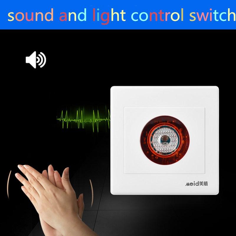 Voice Switch Intelligente Second Line Ton Und Lichtsteuerung Verzgerung Sensor Panel