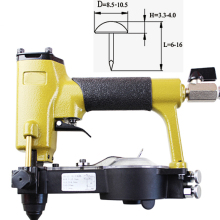Stapler Nailer-Gun Pneumatic-Pins Furniture-Wood-Tool Air-Deco for ZN-12 Quality