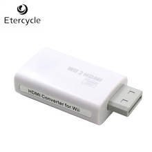 2015 New HDMI Converter for Wii White Full HD 1080P to Wii2HDMI Adapter