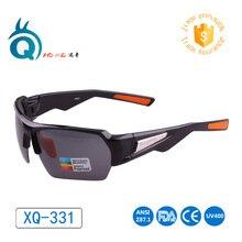2016 Hot sale italy design sport glasses factory price fishing eyewear black half frame Polarized len fishing Sunglasses