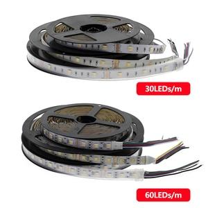 Image 5 - RGBCCT LED bande 5050 12V / 24V 5 couleurs dans 1 puces rvb + WW + CW 60 LED s/m 5 m/lot RGBW LED bande lumineuse 5 m/lot.