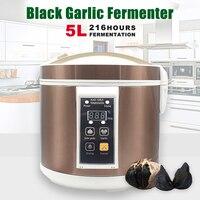 90 Вт 5L автоматический чеснок ферментер фермент коробка Черный Чеснок производитель сушки функция Новое поступление бытовые кухонные прибо