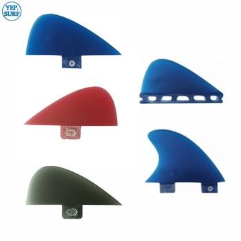 2020 cute fins News blue Center Kneel Fin Fibreglass Surf Fins FCS/Future VS Knubster Keel Set X Small