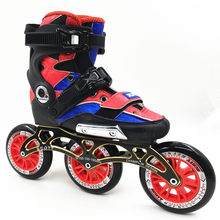 Original roller SKATE Inline Skates Street Free Style Roller Skating Shoes 3 wheels 110mm roller skates quad patines en linea(China)