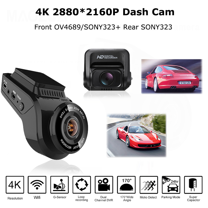 Parts & Accessories Interior Flight Tracker 1080p Mini Auto Car Dvr 170° Wide Angle Dash Cam Video Recorder Adas G-sensor