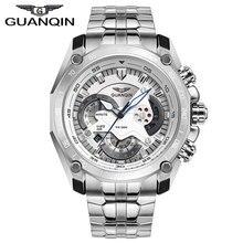 Original de la marca QUANQIN deporte militar reloj de pulsera analógico 100 M impermeable nueva moda Army Men Watch envío gratis