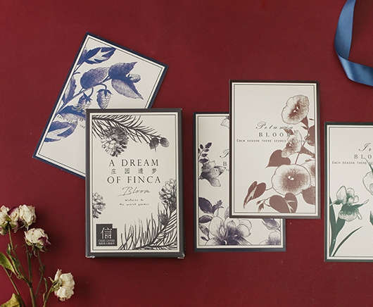 14.3cm*9.3cm Dream Flower Paper Postcard(1pack=30pieces)