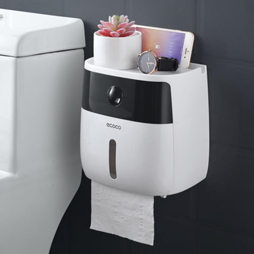 LF82003P wall mounted toilet paper holder dispensers multi creative toilet roll holder bathroom double paper tissue box