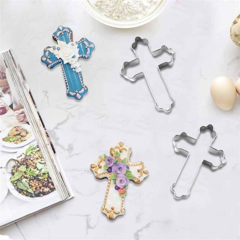 Holy Cross crucifix Easter Cookie Cutter 3 Sizes /& Biscuits Fondant