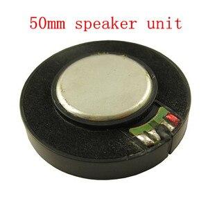 50mm unidade de alto-falante graves pesados estéreo efeitos sonoros 3d 2 pces