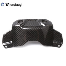 цена на Motorcycle MT09 FZ09 Accessories Carbon Fiber Front Tank Cover Protector For Yamaha MT-09 FZ-09 MT 09 FZ 09 2014 2015 2016 2017