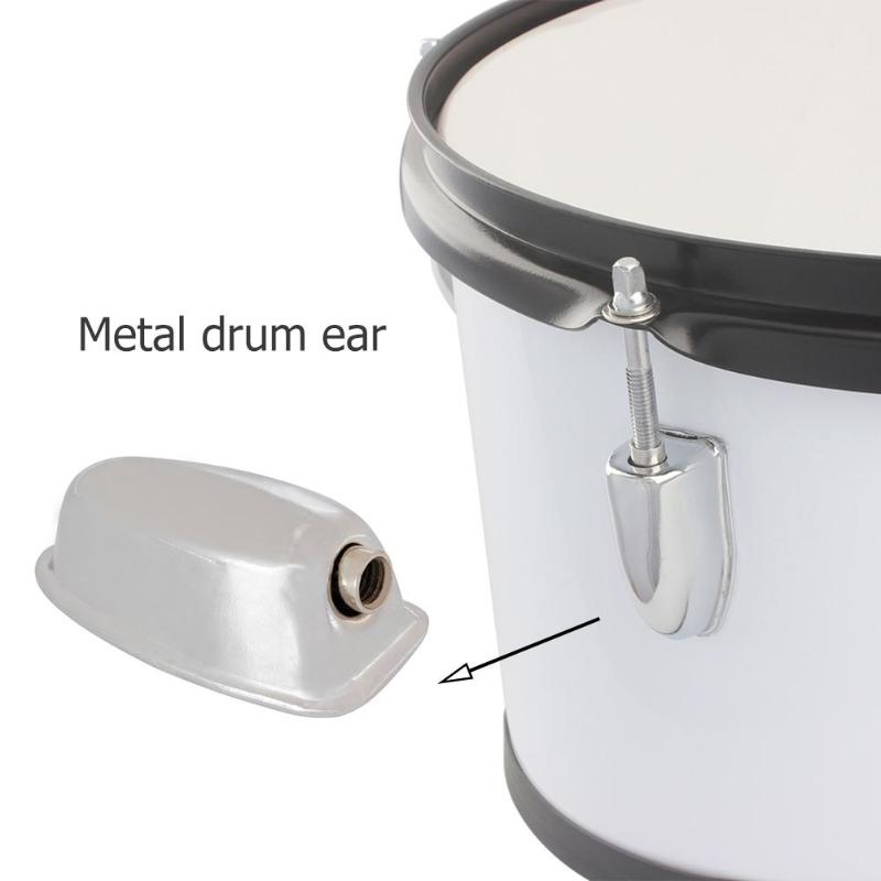 Stainless Steel Drum Ears Percussion Drum Musical Instrument Percussion Instruments Parts & Accessories