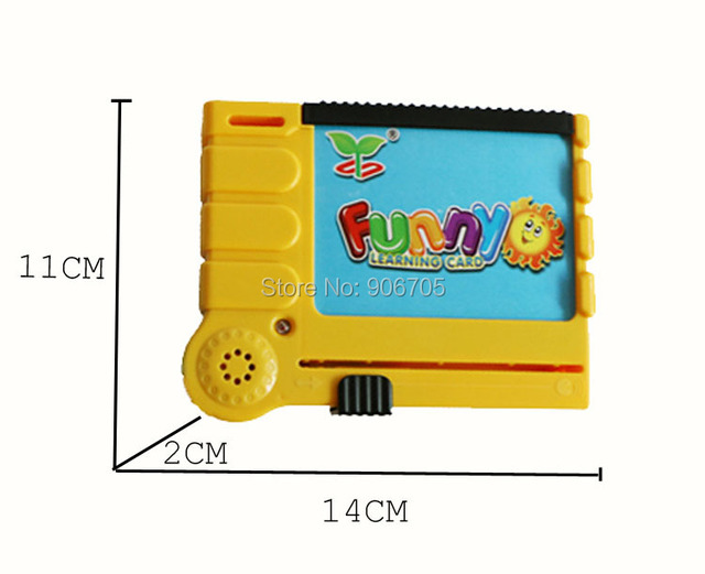 English Educational Toys Learning machine card reader kids toys,Insights Language TutorCard Set  Simulation of various sound