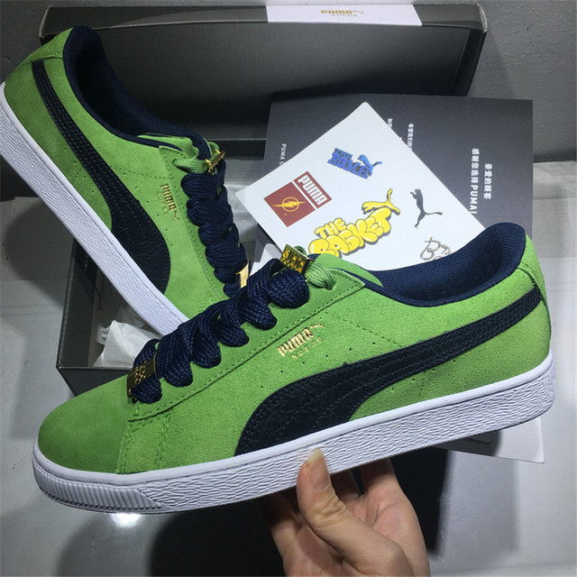 1be626d2880c 2018 Original Brand Puma shoes Puma Suede Classic BBOY Fabulous 50th  Anniversary Classic Shoes Size 36-44