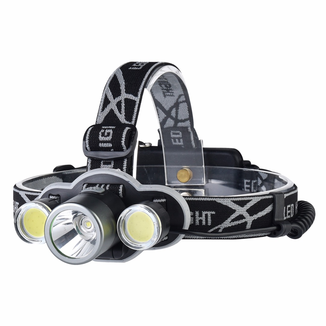High Quality XML-T6 COB 5Modes Powerful 18650 Rechargeable Headlight Headlamp Camping Hunting Head Lights Lantern Head Torch sitemap 32 xml