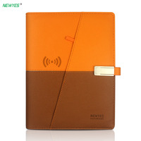 NEWYES A5 Smart Reusable Erasable Notebook A5 Paper power bank and USB flash disk For School Office Supplies App Connection