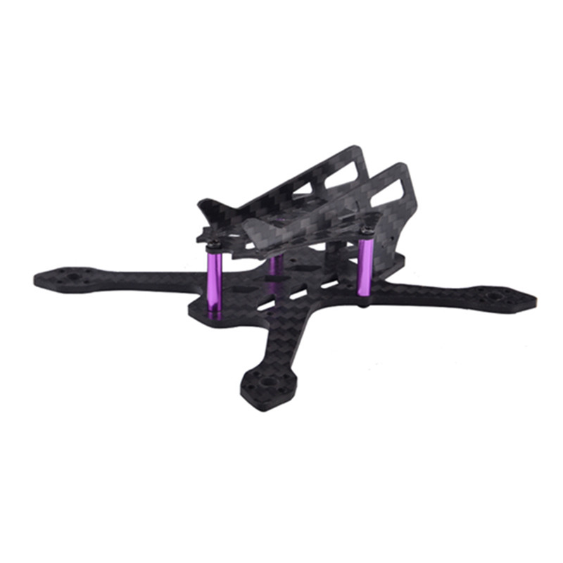 Awesome Q100 100mm 2mm Arm Carbon Fiber X Type Frame Kit For RC Model Multicopter Racing Motor DIY Assembly Spare Parts 16g 1sheet matte surface 3k 100% carbon fiber plate sheet 2mm thickness