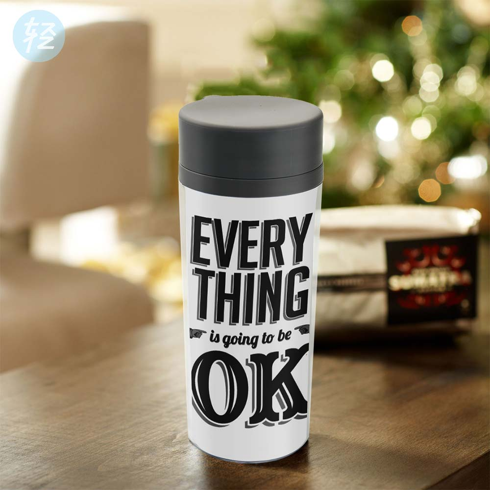 compare prices on bpa free plastic online shoppingbuy low price  - personalized modern drinkware bpa free plastic insulated inspirationalblack white quote typography kids water bottle ml