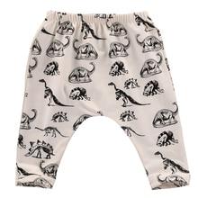 New Baby Toddler Boy Girl Cotton Animal Leggings dinosaur PP Pants Dinosaur Printed Pants 0-3Y