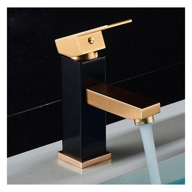 HTB1ncOtcLWG3KVjSZFgq6zTspXaz Luxury Bathroom Basin Faucet Space Aluminum Cold and Hot Water Mixer Tap Deck Mounted Single Handle Crane Washbasin Sink Faucet