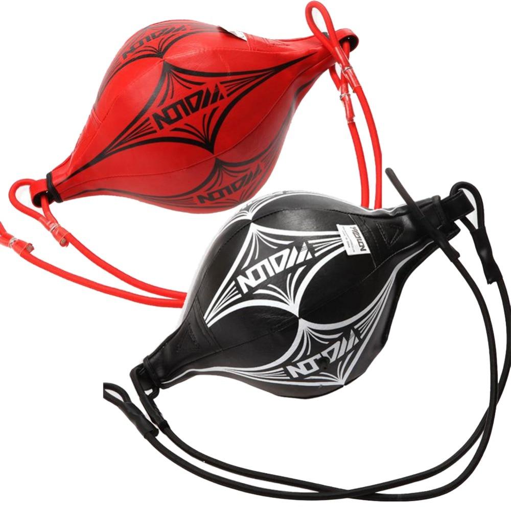 Бокс Скорость Ball Двойной Конец Муай Тай Бокс Пробивание сумка Скорость мяч PU удар Обучение Фитнес спортивный практические Скорость оборудования