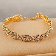 Nowa koreańska bransoletka biżuteria pełna Fangzuan błyszcząca elegancka bransoletka dla Woemn dzikie prezenty świąteczne Charm bransoletka hurtownia